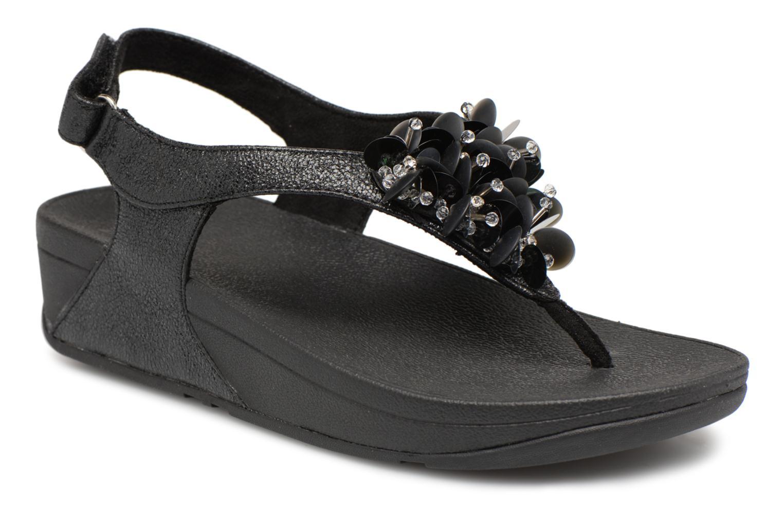 Zapatos promocionales FitFlop Boogaloo Back Strap Sandal (Negro) - Sandalias   Casual salvaje