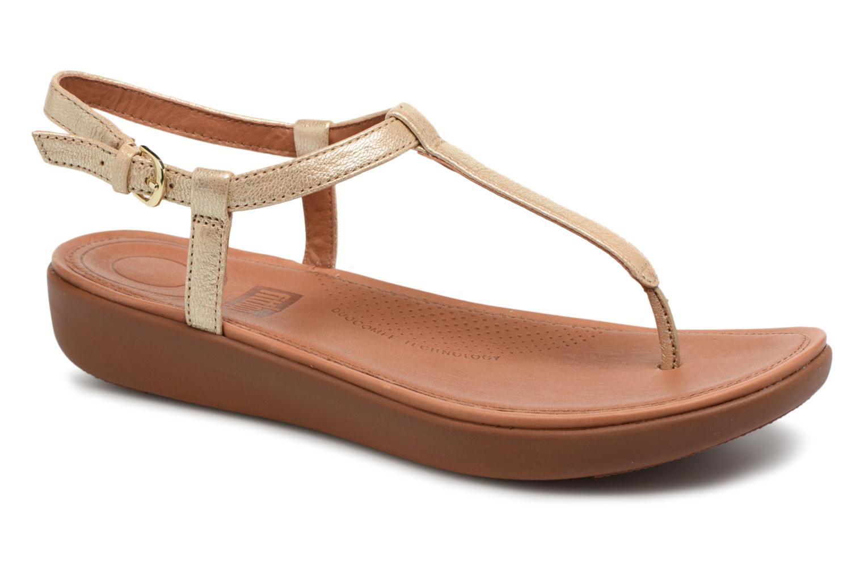 Los últimos zapatos de descuento para hombres y mujeres FitFlop Tia (Oro y bronce) - Sandalias en Más cómodo