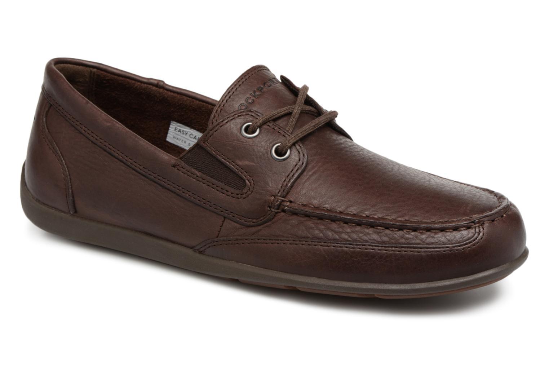 Rockport Bl4 Boat Shoe (Marron) - Chaussures à lacets chez Sarenza (325255)