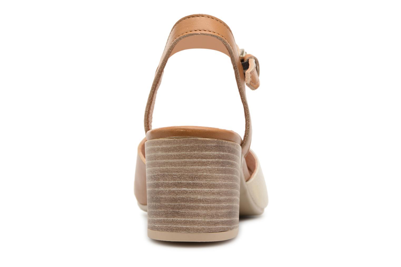 Sandales et nu-pieds Georgia Rose Semoria soft Marron vue droite