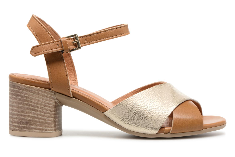 Sandales et nu-pieds Georgia Rose Semoria soft Marron vue derrière