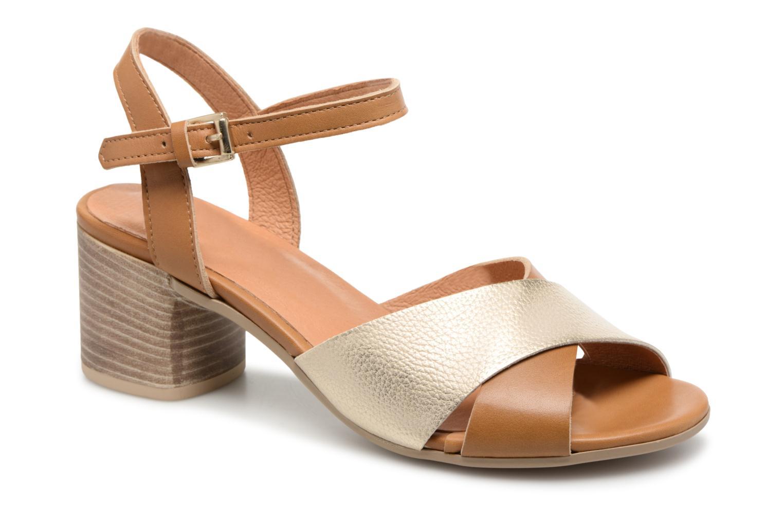 Zapatos promocionales Georgia Rose Semoria soft (Marrón) - Sandalias   Gran descuento