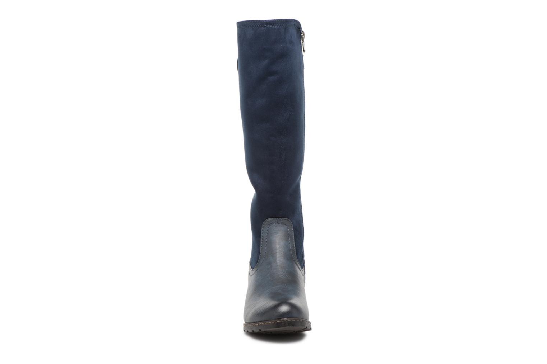 Bottes Refresh 63878 Bleu vue portées chaussures