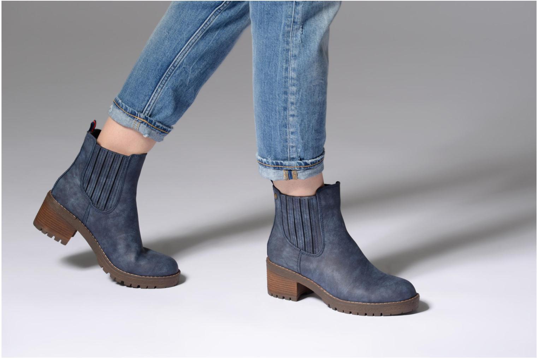 Bottines et boots Refresh 64031 Bleu vue bas / vue portée sac
