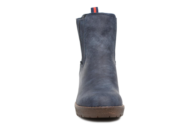 Bottines et boots Refresh 64031 Bleu vue portées chaussures