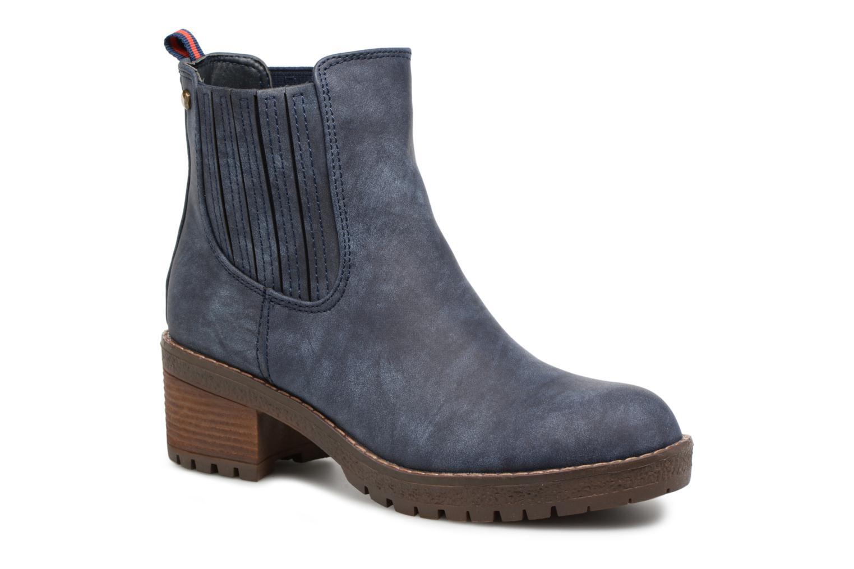Bottines et boots Refresh 64031 Bleu vue détail/paire