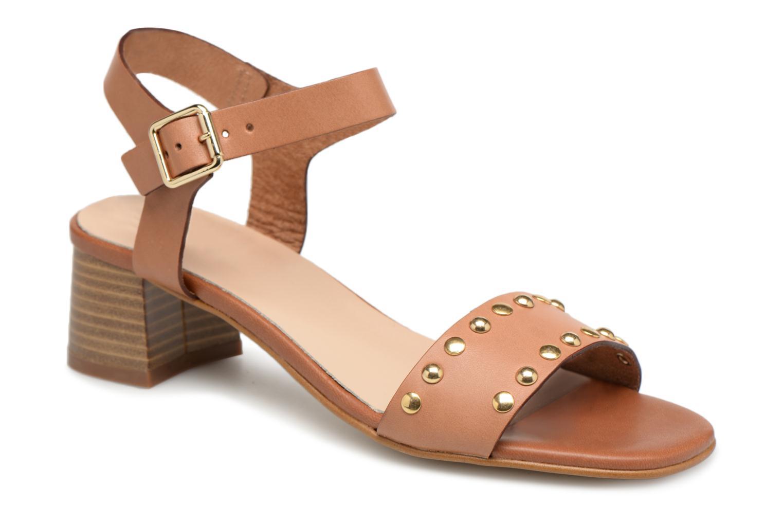 Zapatos promocionales Georgia Rose Locoulan (Marrón) - Sandalias   Venta de liquidación de temporada
