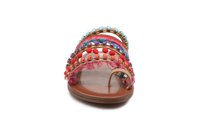 Sandales et nu-pieds Steve Madden Gypsy Slipper Multicolore vue portées chaussures