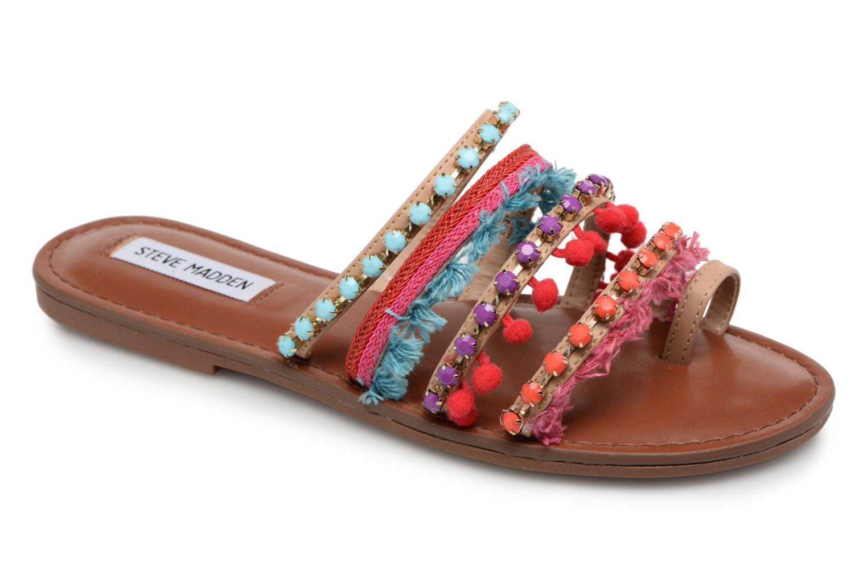 Sandales et nu-pieds Steve Madden Gypsy Slipper Multicolore vue détail/paire