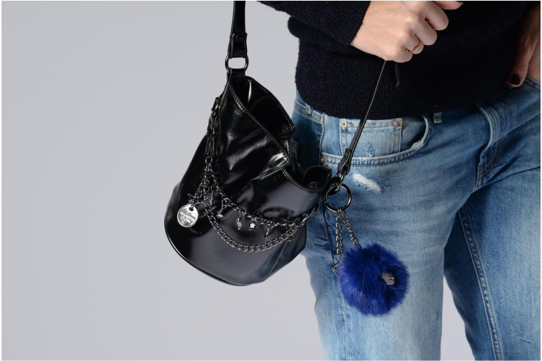 Handtaschen Steve Madden Bsonja schwarz ansicht von oben