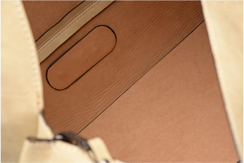 Handtaschen Steve Madden Bjesse beige ansicht von hinten