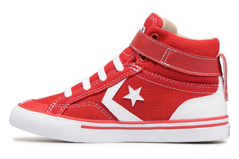 Baskets Converse Pro Blaze Strap Summer Sport Textile Ox Rouge vue face