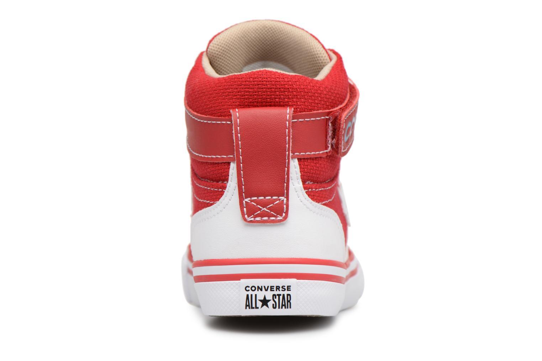 Baskets Converse Pro Blaze Strap Summer Sport Textile Ox Rouge vue droite