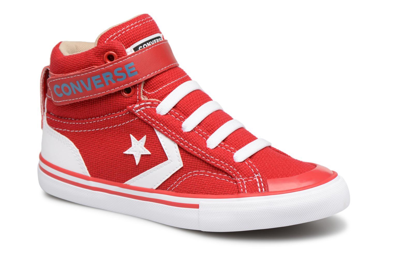 Baskets Converse Pro Blaze Strap Summer Sport Textile Ox Rouge vue détail/paire