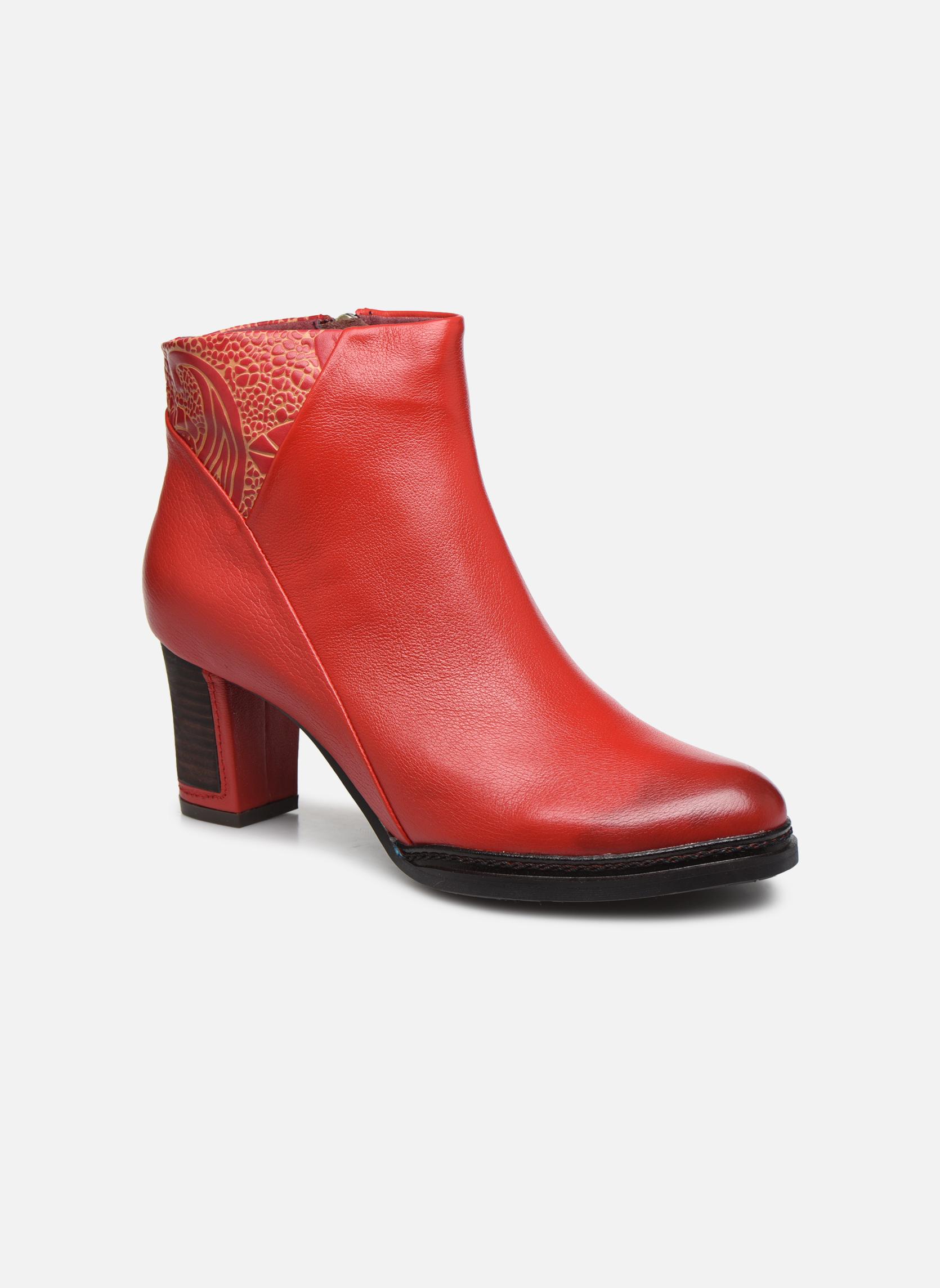 Moda barata y hermosa Laura Vita ANGELA 12 (Rojo) - Botines  en Más cómodo