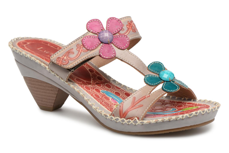 Clogs & Pantoletten Laura Vita BEIGNET 14 mehrfarbig detaillierte  ansicht/modell