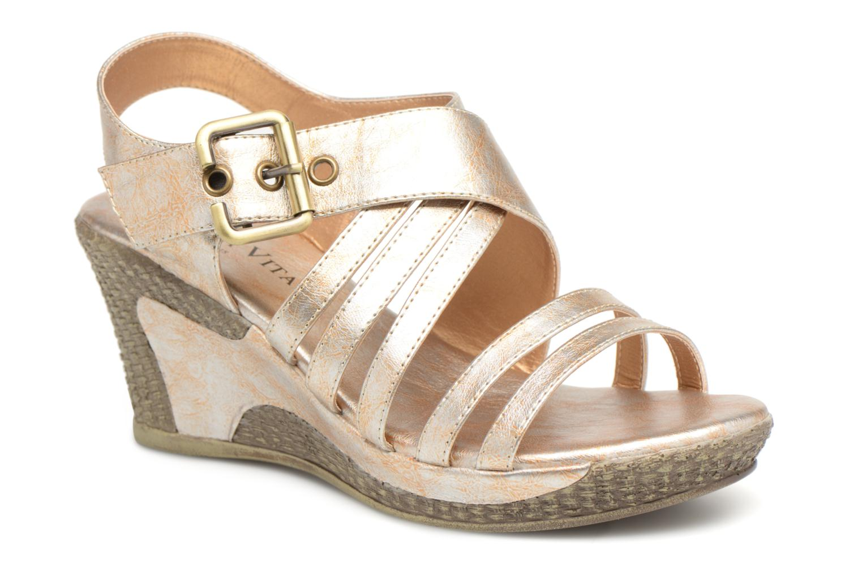 Laura Vita JALE (Or et bronze) - Sandales et nu-pieds chez Sarenza (326191)