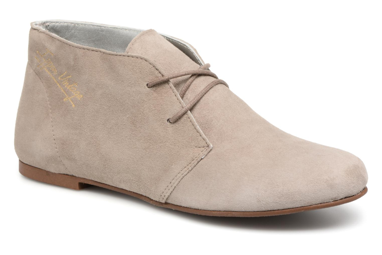 Marques Chaussure femme Ippon Vintage femme HYP-CASUAL Ciment