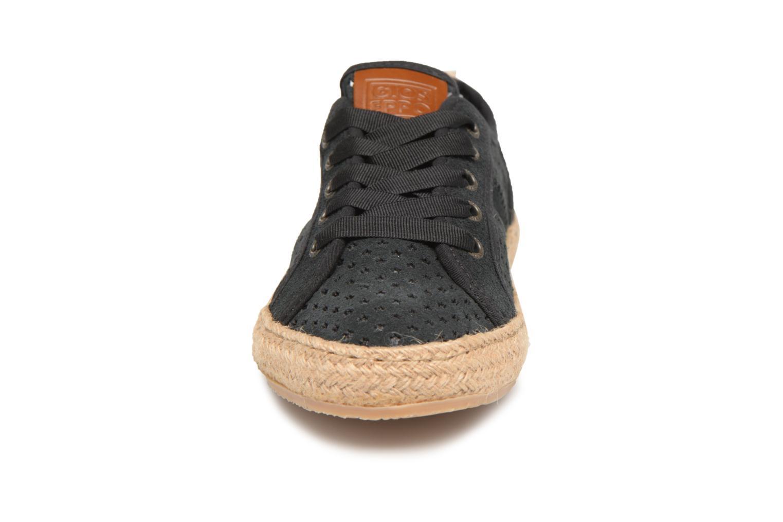 Espadrilles Gioseppo BERLANZA Noir vue portées chaussures