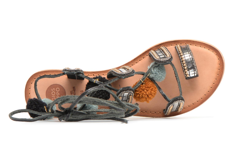 Sandales et nu-pieds Gioseppo NAYELI Noir vue gauche