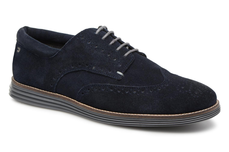 Gioseppo 41193-P (Bleu) - Chaussures à lacets chez Sarenza (326391)