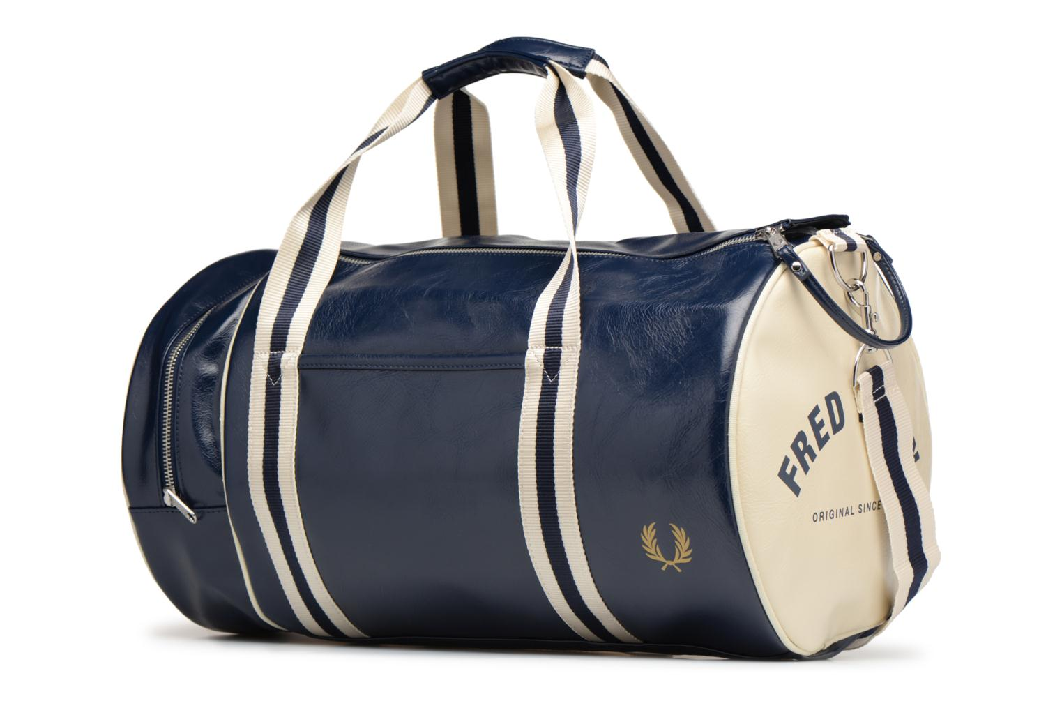 Sporttassen Fred Perry Classic Barrel Bag V Blauw model