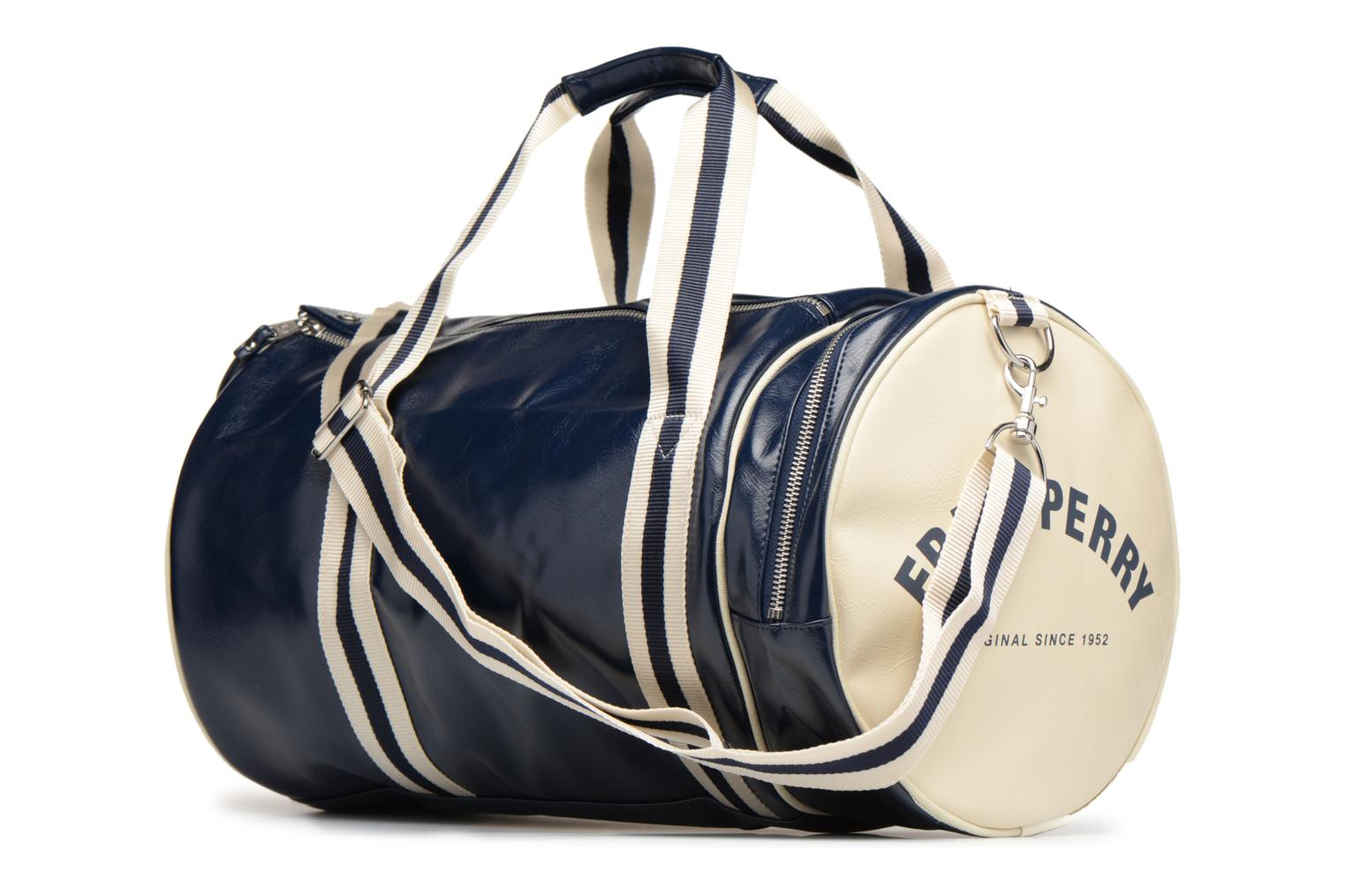 Sporttassen Fred Perry Classic Barrel Bag V Blauw rechts