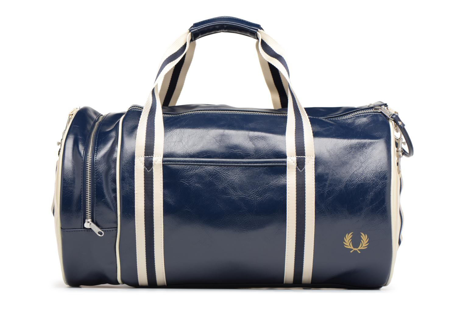 Sporttassen Fred Perry Classic Barrel Bag V Blauw detail