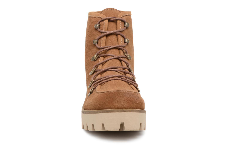 Zapatos casuales salvajes MTNG 50842 (Marrón) - Botines  en Más cómodo