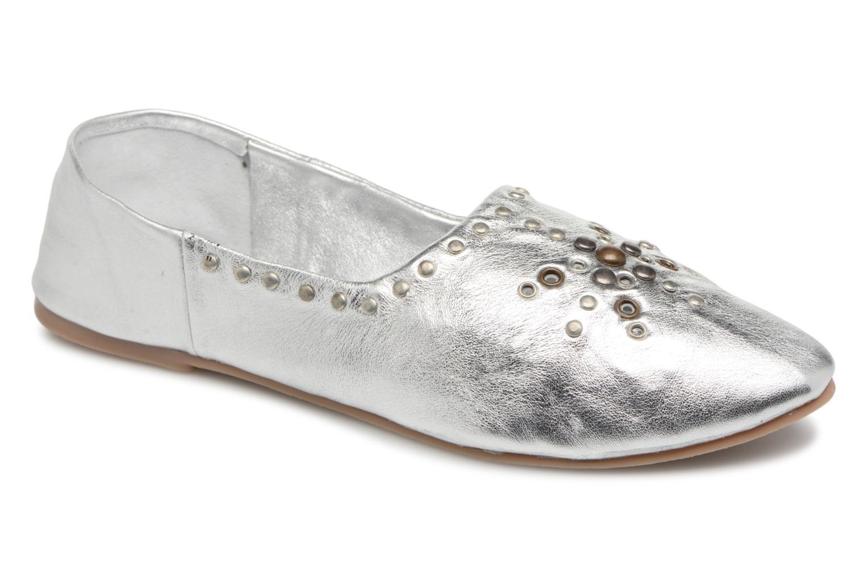 Zapatos promocionales Vero Moda Adeline (Plateado) - Bailarinas   Venta de liquidación de temporada
