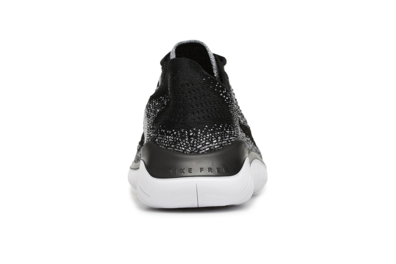 Nike White black Free Flyknit Rn Nike 2018 raXYwr