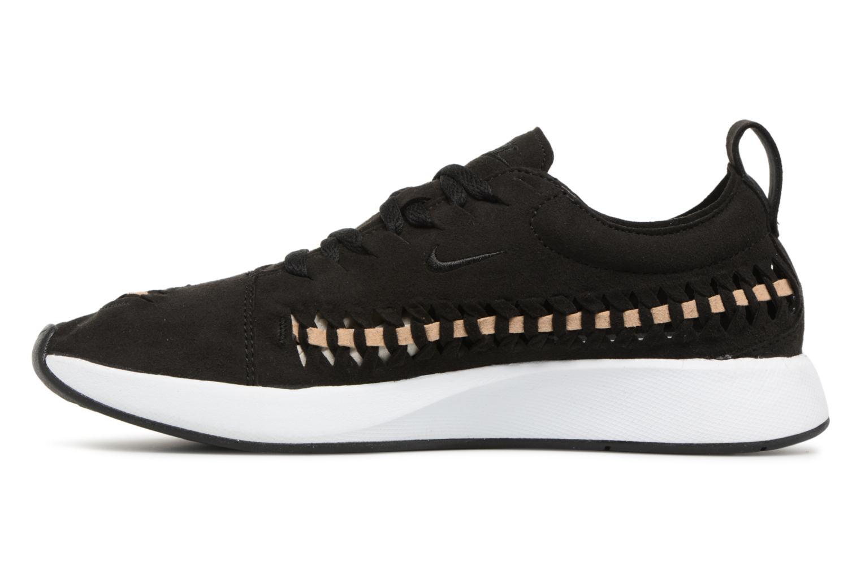 Black/Black-Vachetta Tan-White Nike W Dualtone Racer Woven (Noir)
