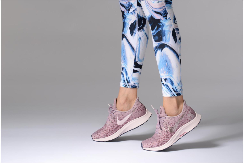 Chaussures de sport Nike Wmns Nike Air Zoom Pegasus 35 Rose vue bas / vue portée sac