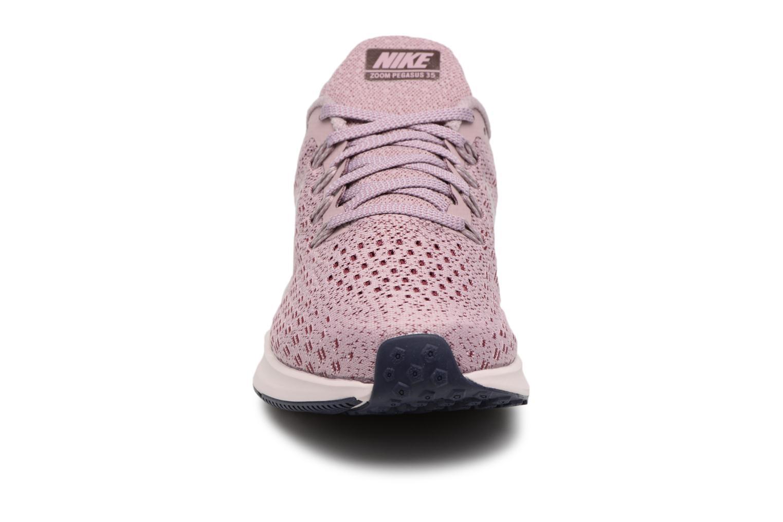 Chaussures de sport Nike Wmns Nike Air Zoom Pegasus 35 Rose vue portées chaussures