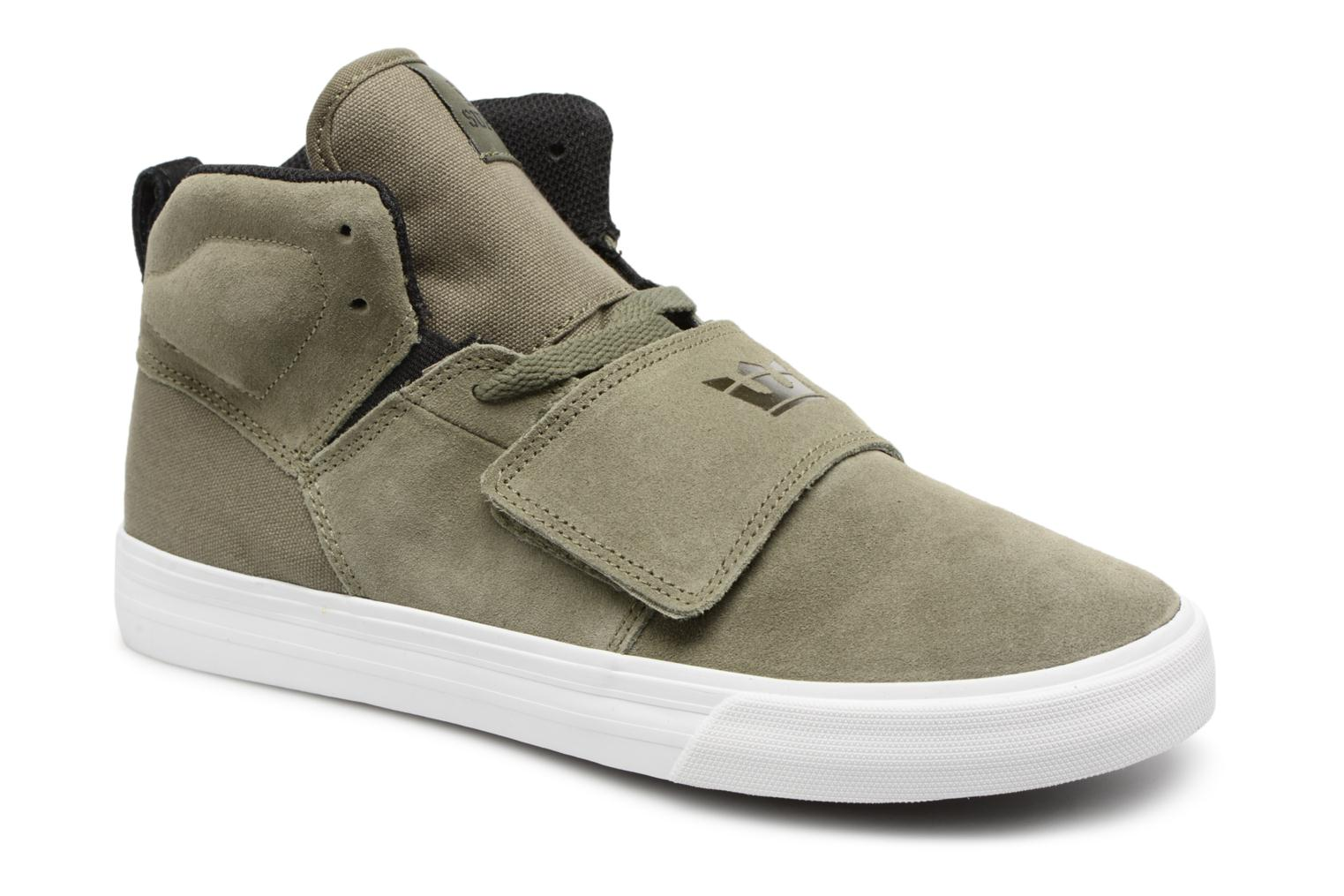 Marques Chaussure homme Supra homme ROCK LIGHT GREY - OFF WHITE-M