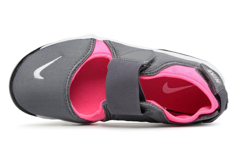 Sneaker Nike Rift (Gs/Ps Girls) grau ansicht von links