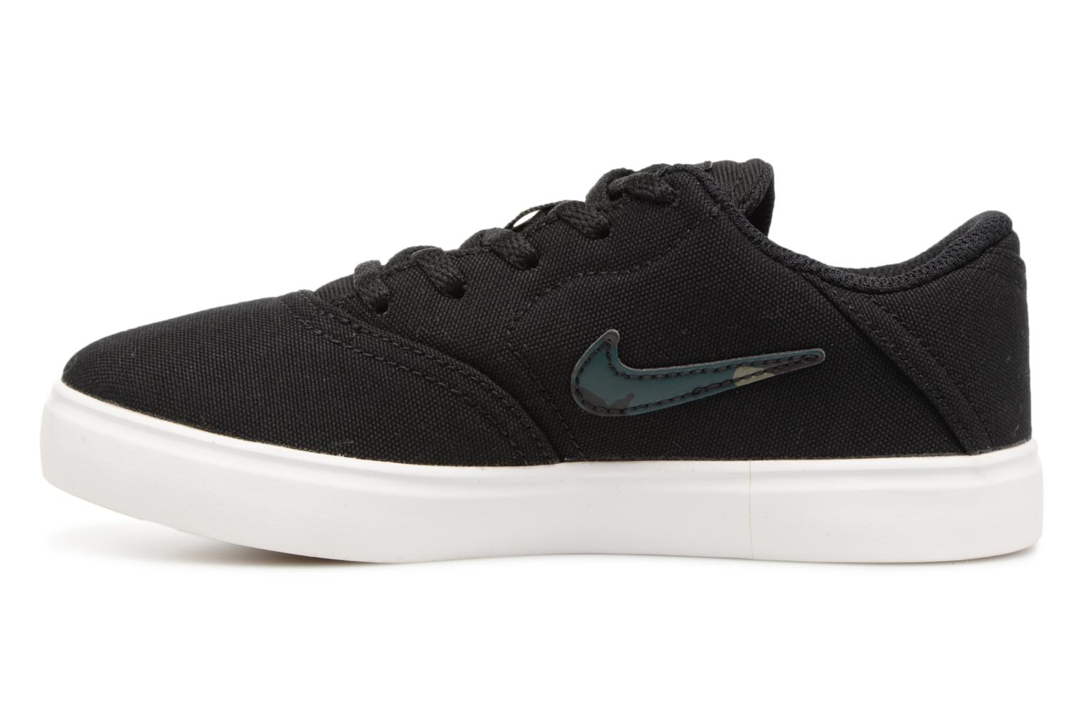 Black/white Nike Nike Sb Check Cnvs (Ps) (Noir)