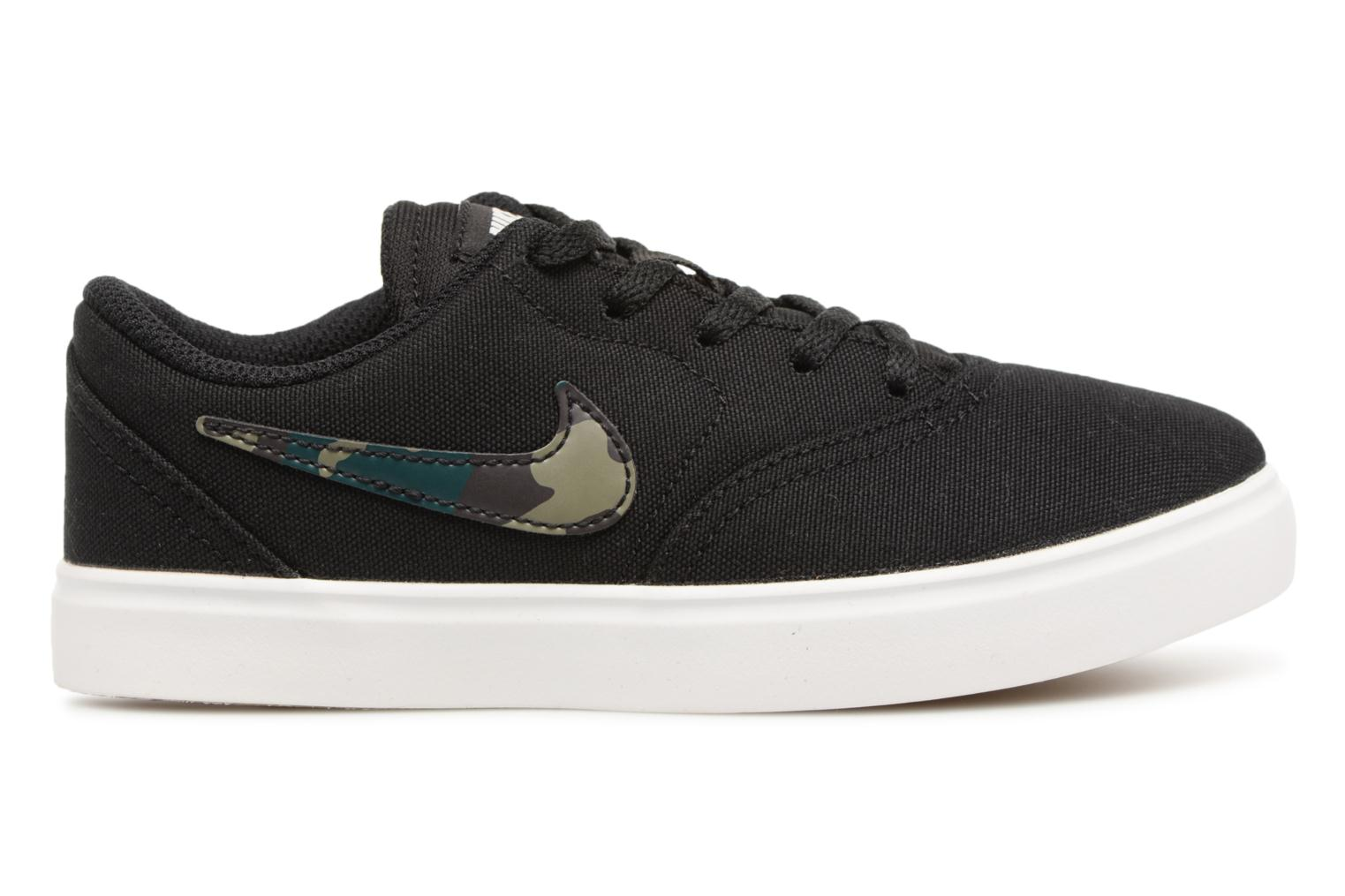 Black/Medium Olive-Pro Green Nike Nike Sb Check Cnvs (Ps) (Noir)