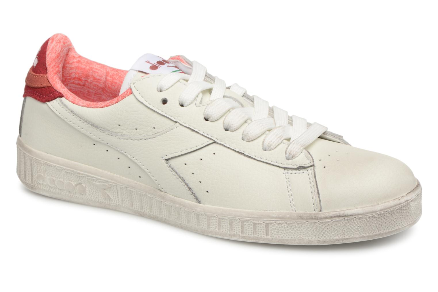 Marques Chaussure homme Diadora homme GAME L LOW JERSEY ROSA SBIADITA
