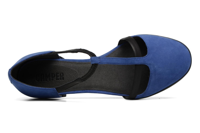 Ballet pumps Camper Casi Tiptap Blue view from the left