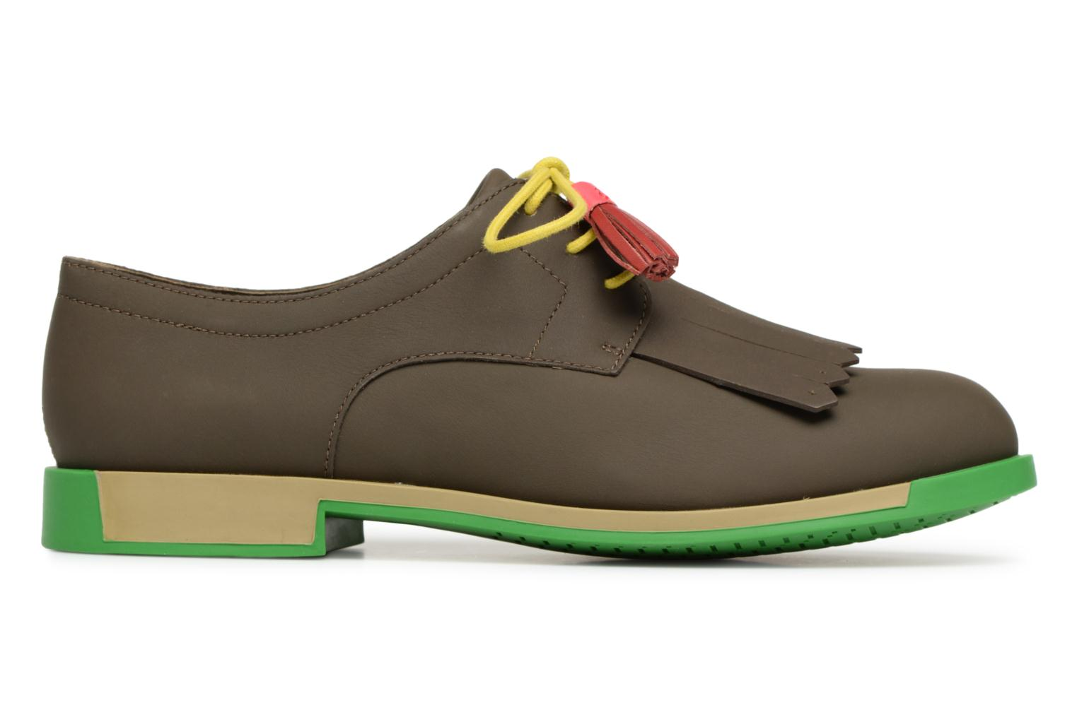Lace-up shoes Camper TWS K200401 Brown back view