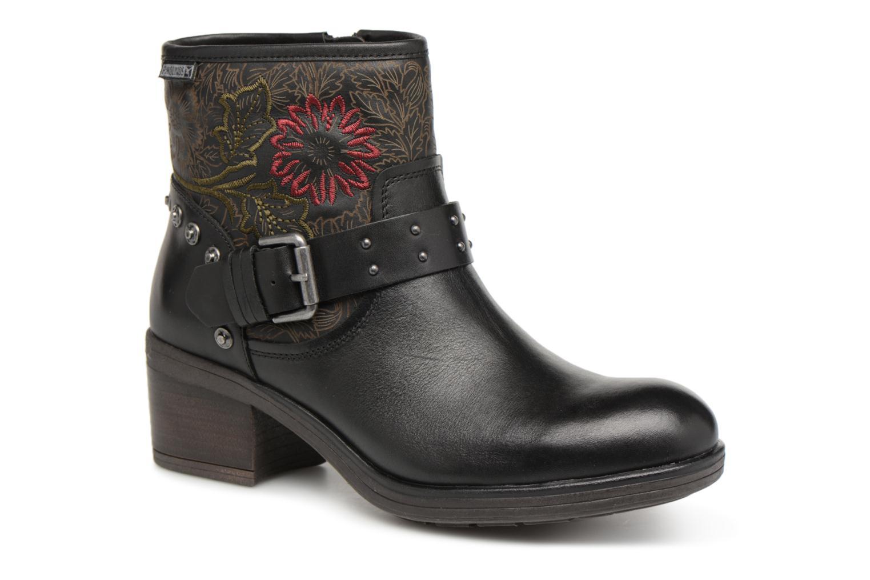 Grandes descuentos últimos zapatos Pikolinos Lyon W6N-8684 (Negro) - Botines  Descuento
