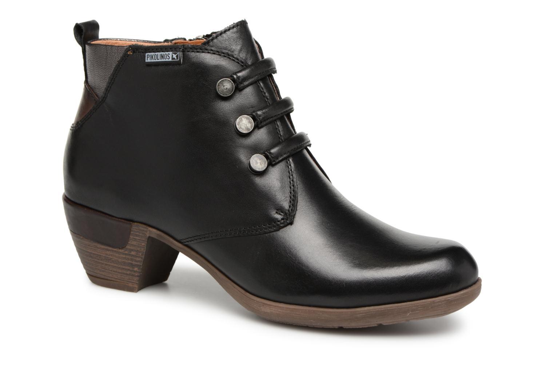 Grandes descuentos últimos zapatos Pikolinos Rotterdam 902-8746 (Negro) - Botines  Descuento