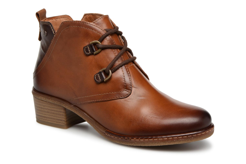 Grandes descuentos últimos zapatos Pikolinos Zaragoza W9H-8719 (Marrón) - Botines  Descuento