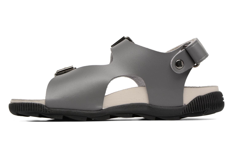 Sandales et nu-pieds Geox J SANDAL STORM A J7242A Gris vue face