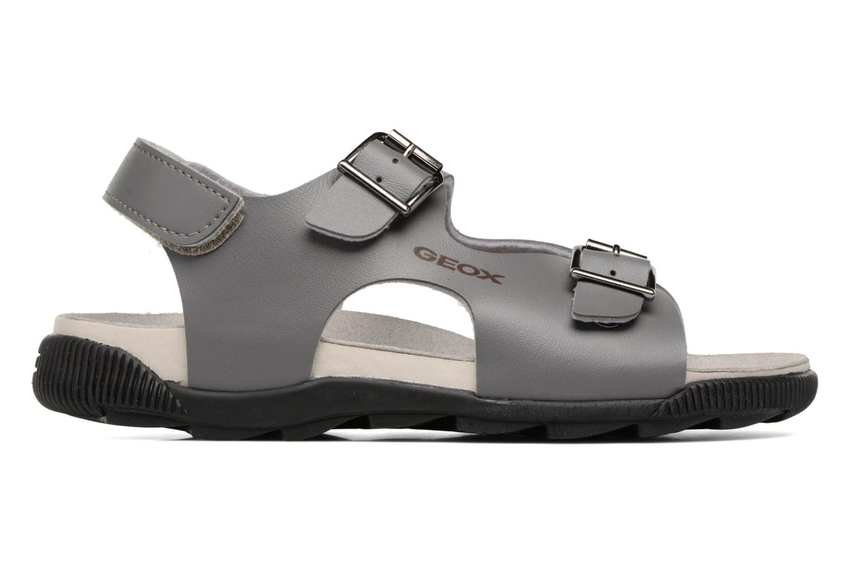Sandales et nu-pieds Geox J SANDAL STORM A J7242A Gris vue derrière