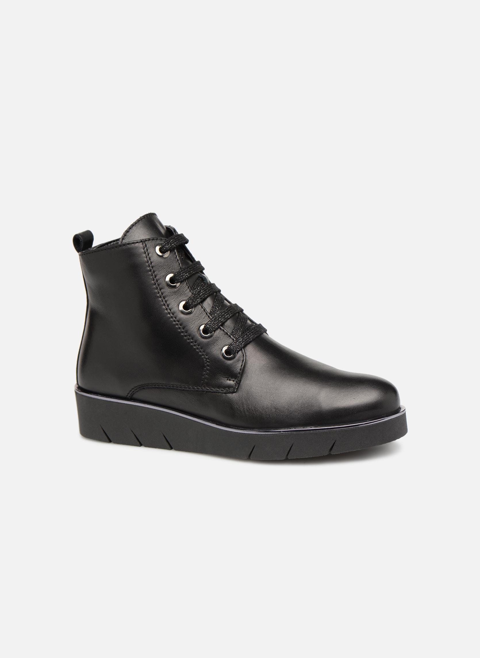 Zapatos casuales salvajes The Flexx Rudy (Negro) - Botines  en Más cómodo