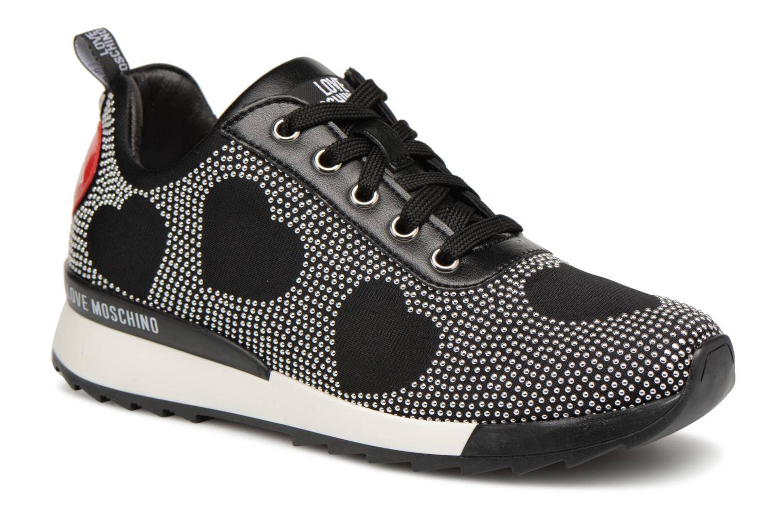 Love Moschino - Damen - L.A Heart sneaker - Sneaker - schwarz rT1DU