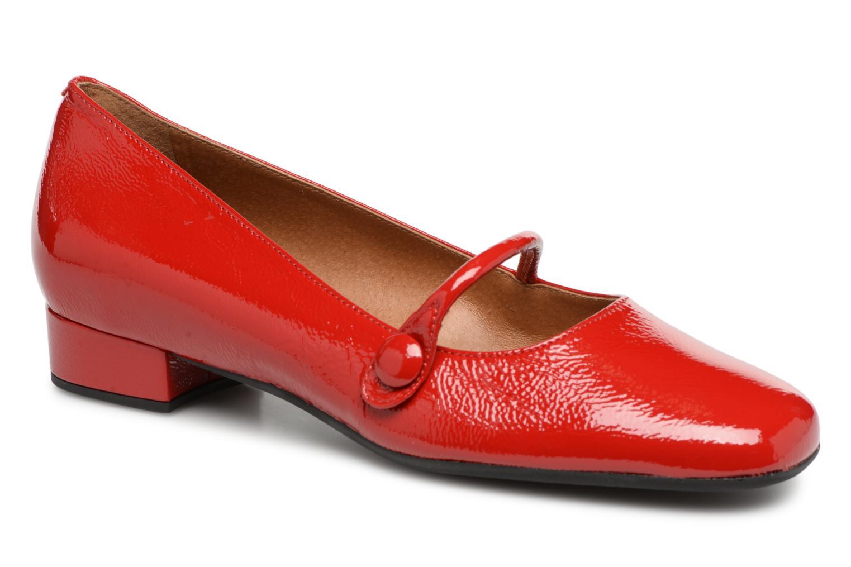 Venta de liquidación de temporada Georgia Rose Ladiam (Rojo) - Bailarinas en Más cómodo