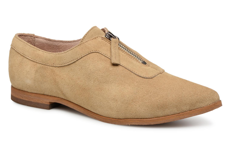 Zapatos promocionales Shoe the bear NADIA ZIP S (Beige) - Mocasines   Venta de liquidación de temporada